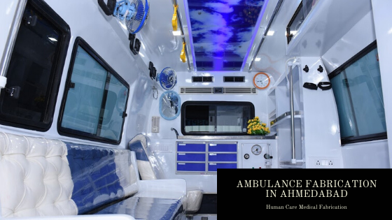 Ambulance Fabrication in Ahmedabad - Top Class Manufacturers